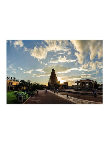 "Rawpockets""Bragadeswara Temple Entrance""Wall posters (PaperBoard,33cmX48cm) - 15732364 - Standard Image - 1"