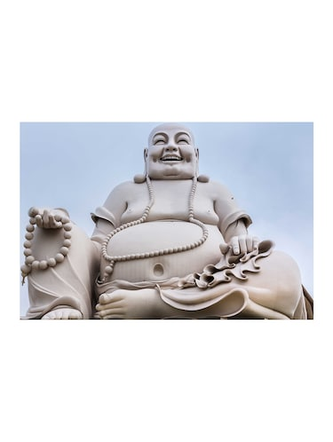 "Rawpockets""Buddha White""Wall posters (PaperBoard,33cmX48cm) - 15732371 - Standard Image - 1"