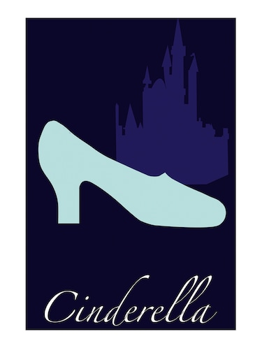 "Rawpockets""Cinderella Wallpaper""Wall posters (PaperBoard,33cmX48cm) - 15732381 - Standard Image - 1"
