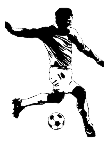 "Rawpockets""Football BW""Wall posters (PaperBoard,33cmX48cm) - 15732414 - Standard Image - 1"