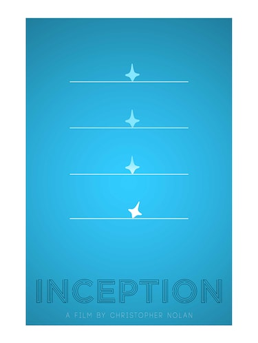 "Rawpockets""Inception By Nolan""Wall posters (PaperBoard,33cmX48cm) - 15732450 - Standard Image - 1"