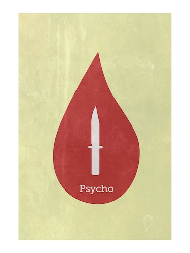 "Rawpockets""Psycho Wall""Wall posters (PaperBoard,33cmX48cm) - 15732464 - Standard Image - 1"