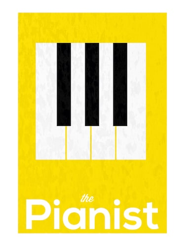 "Rawpockets""The Pianist""Wall posters (PaperBoard,33cmX48cm) - 15732484 - Standard Image - 1"