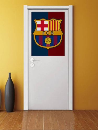 Rawpockets Wall Decals ' FCB Club '  Wall stickers (PVC Vinyl) Multicolour - 15733572 - Standard Image - 1