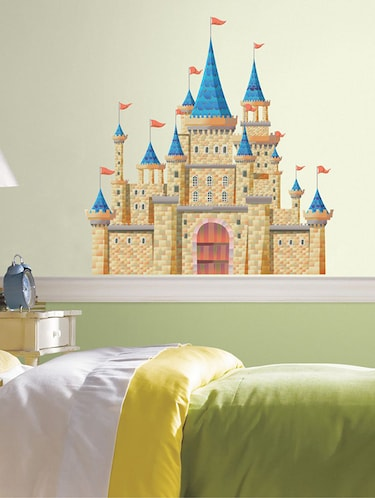 Rawpockets Wall Decals ' Fantasy Fort Wall Sticker '  Wall stickers (PVC Vinyl) Multicolour - 15733587 - Standard Image - 1