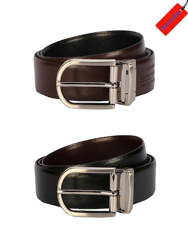black leather belt - 15738532 - Standard Image - 1