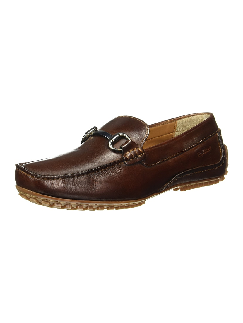 14d03428da3 Buy Tan Leather Slip On Loafers for Men from Ruosh for ₹3026 at 33 ...