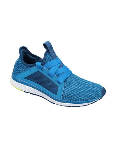 blue Fabric lace up sport shoes - 15825546 - Standard Image - 1