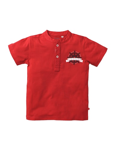 red cotton tshirt - 15834460 - Standard Image - 1