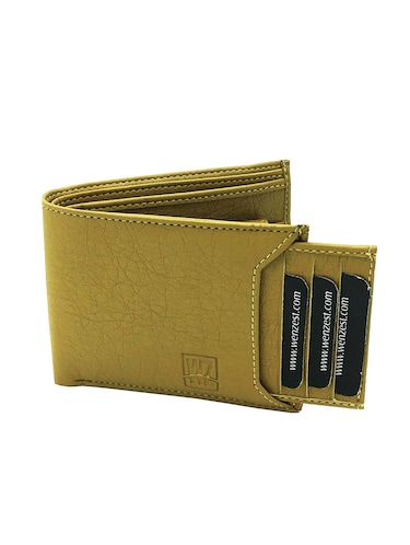 green  leather leatherette wallet - 15878507 - Standard Image - 1