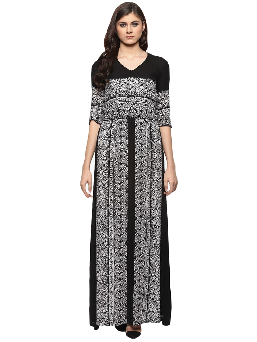 b0bde14670a Buy Paisley Blouson Maxi Dress for Women from Miaminx for ₹880 at ...
