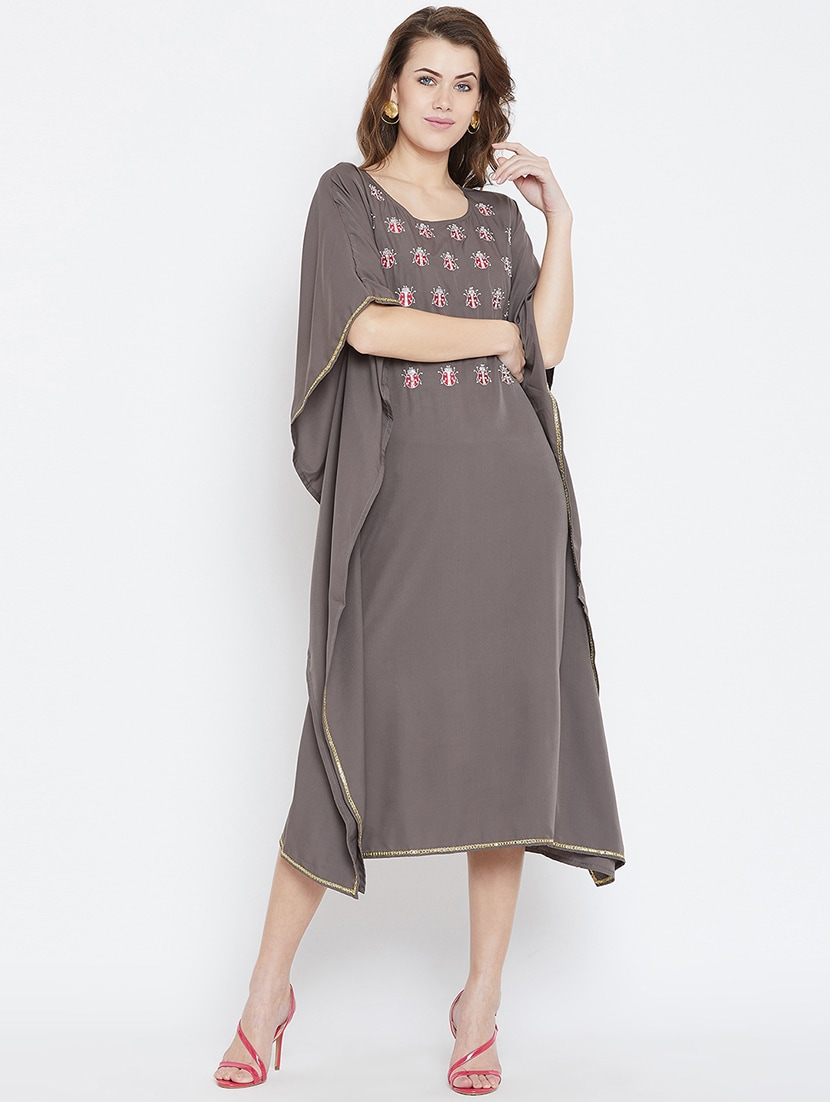 Quirky Embroidered Kaftan