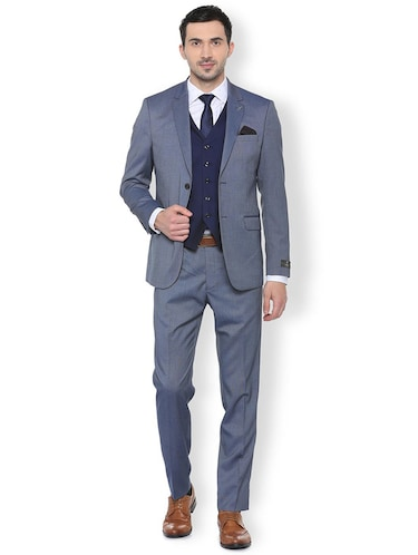 blue terry rayon 3-piece suit - 16107541 - Standard Image - 1