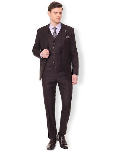 brown terry rayon suit - 16107548 - Standard Image - 1
