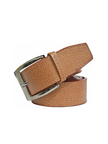 brown leatherette belt - 16166731 - Standard Image - 1