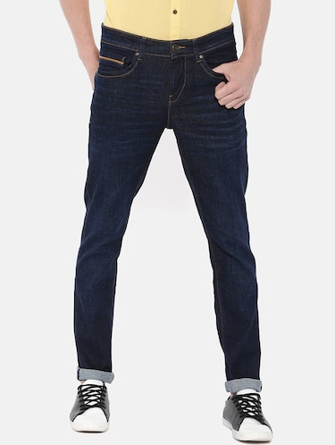 blue denim light washed jeans - 16170776 - Standard Image - 1