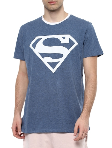 blue polyester character t-shirt - 16179989 - Standard Image - 1