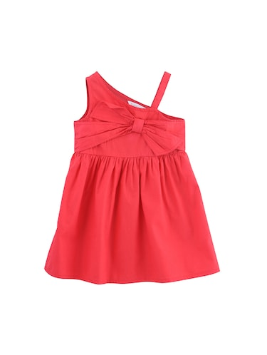 red cotton frock - 16184333 - Standard Image - 1