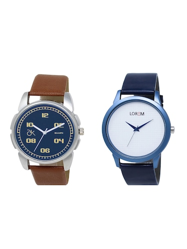 set of 2 analog watch combos(AD-01-LK-33) - 16211120 - Standard Image - 1