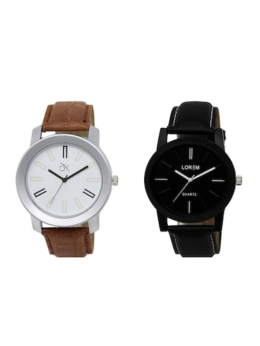 set of 2 analog watch combos(AD-02-LK-05) - 16211180 - Standard Image - 1