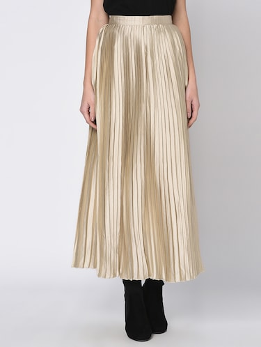 c6534e088125 Buy High Rise Accordion Pleat Skirt for Women from Rigo for ₹799 at ...