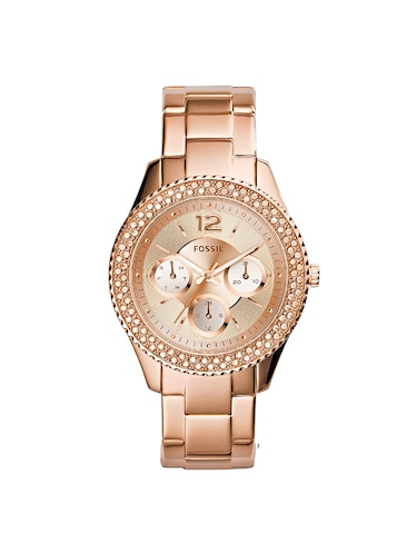 FOSSIL Gold Dial Watch For Women - ES3590 - 16223353 - Standard Image - 1