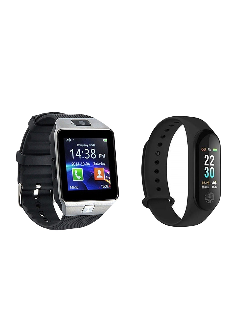 590db08a4 ... Zoom Star DZ09 Smartwatch With M3 fitness Band - 16235766 - Zoom Image  - 1