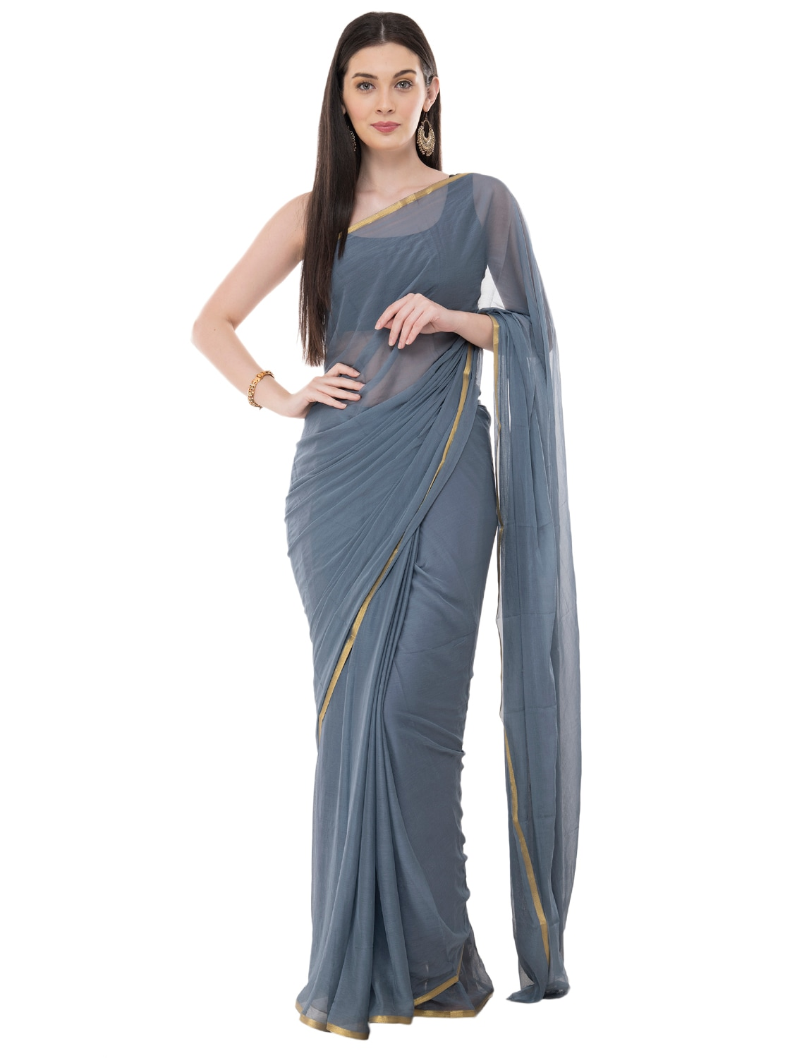 Image result for girl in simplesaree