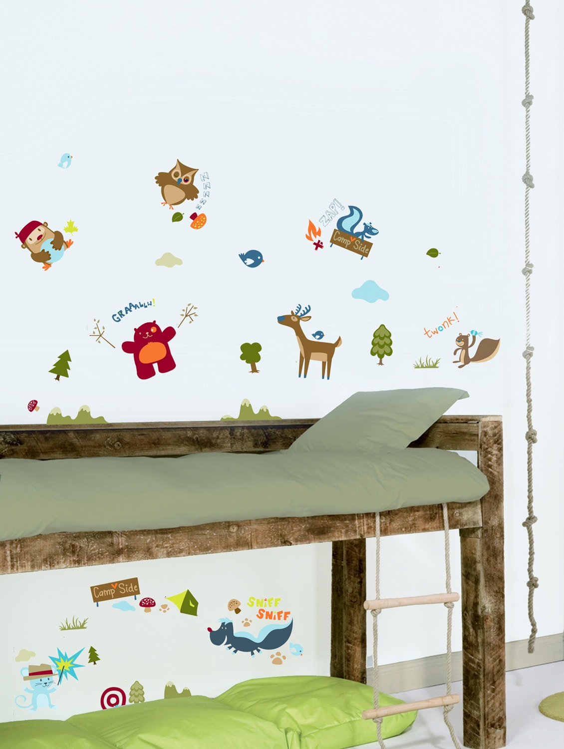 ... Camp Side Wall Stickers   26958   Zoom Image   1
