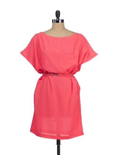 Buy Coral Poncho Dress By Tops And Tunics Online Shopping For