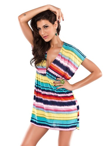 129059c07f Buy Rainbow Beach Cover-up for Women from N-gal for ₹907 at 45% off ...