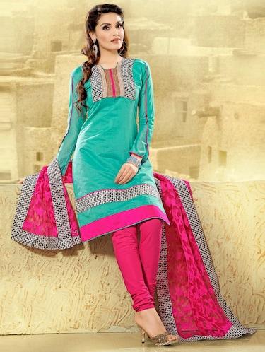 Pink Blue Combination Suit