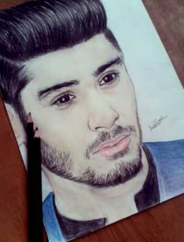 Buy Zayn Malik Drawing For Unisex From Anis Wani For 5000 At 0