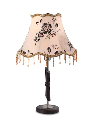 Baby Pink Printed Table Lamp - 9606273 - Standard Image - 1