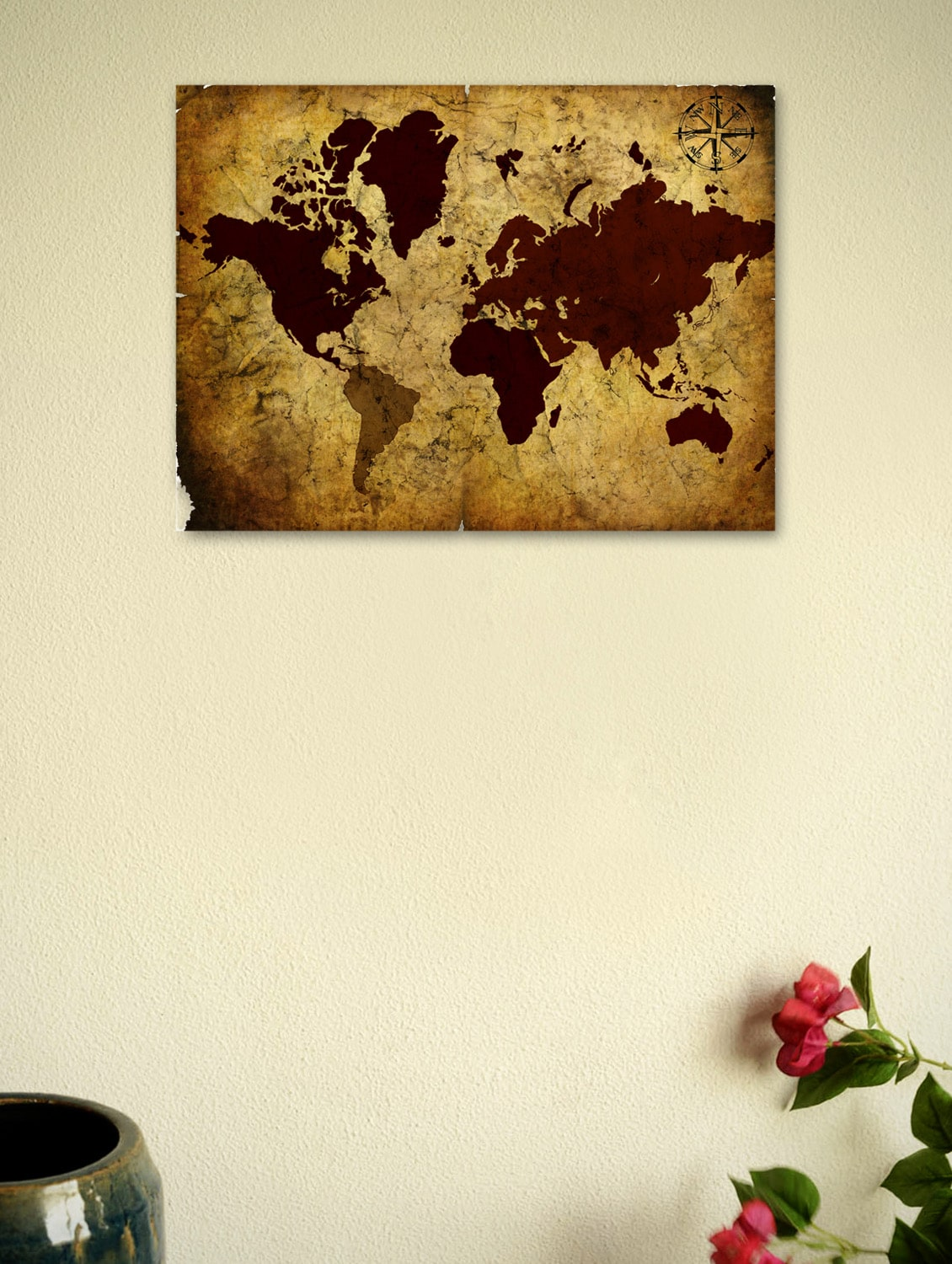 Buy vintage world map 03 poster by seven rays online shopping for buy vintage world map 03 poster by seven rays online shopping for posters in india 965014 gumiabroncs Gallery