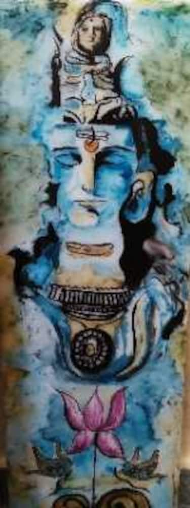 lord shiva 3d painting s