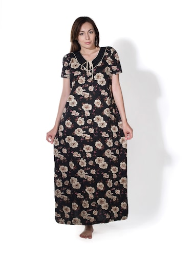 73406820b90 Buy Printed Long Nighty In Hosiery for Women from Privatelives for ...
