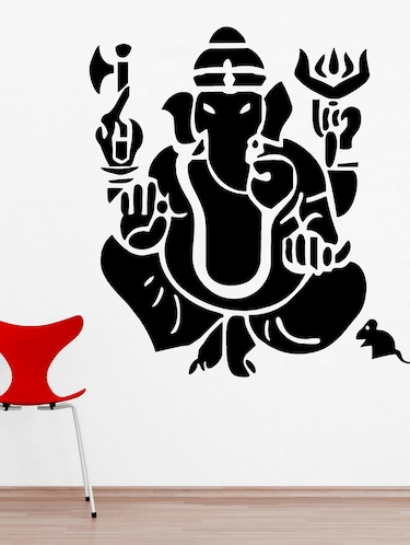 buy shri ganesh ji wall decaldecor villa - online shopping for
